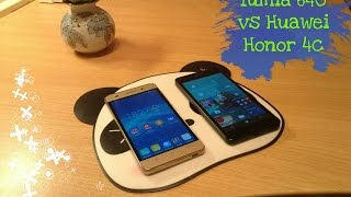 lumia 640 windows 10 mobile vs huawei honor 4c android 6 0
