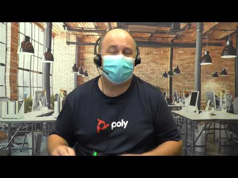 Headset Voice Quality with Mask  Poly EncorePro 500 Series