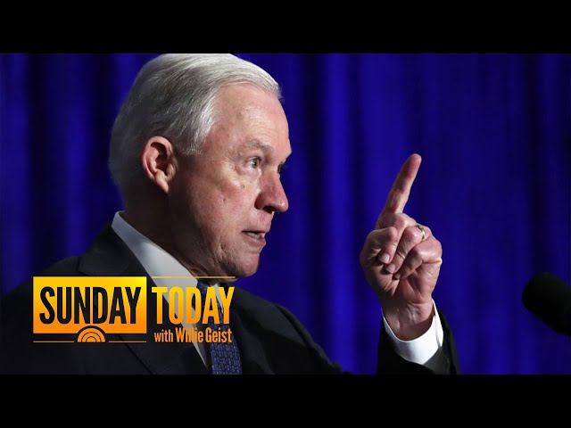 President Trump And Jeff Sessions Engage In A Twitter War | Sunday TODAY