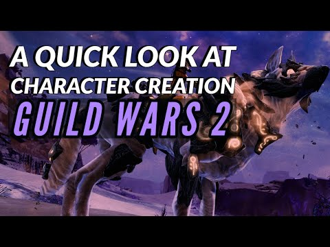 GUILD WARS 2 | Character Creation, Races & Classes