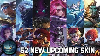 52 UPCOMING NEW SKIN MOBILE LEGENDS - Mobile Legends Bang Bang