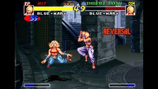 [TAS]ARCADE Real Bout Fatal Fury -Blue Mary