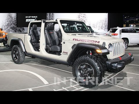 2020 Jeep Gladiator Rubicon - new mid-size off-road pickup truck