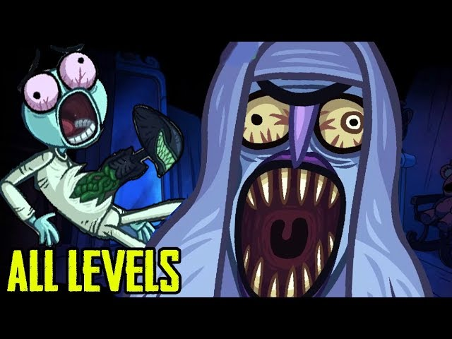 Troll Face Quest Horror All Levels Android/IOS Gameplay