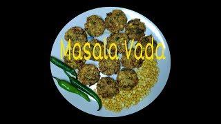 Masala Vada || Masala Vadai || Paruppu Vadai || Crispy And Very Tasty