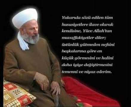 Cübbeli Ahmet hocamız'dan(Menzil Şeyhi Gavsı'sani Seyyid Abdulbaki Hz'lerine Taziyesi)