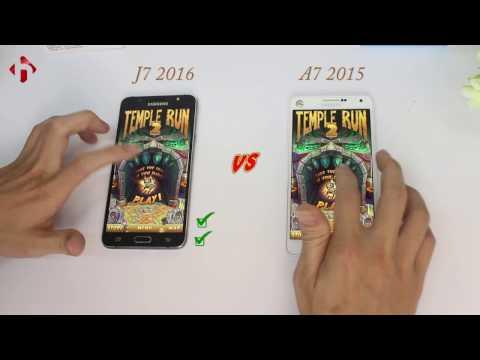 Speed Test: Samsung Galaxy A7 2015 và Galaxy J7 2016 | Anh em đấu đá - HungMobile