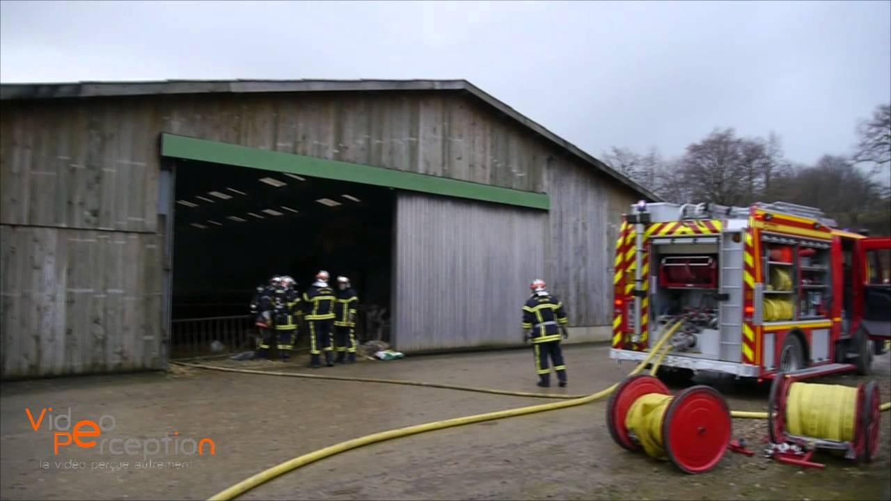 Feu de hangar agricole à Ligsdorf - YouTube - Hangar Agricole