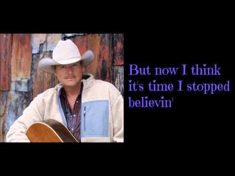 Alan Jackson - Someday W/Lyrics