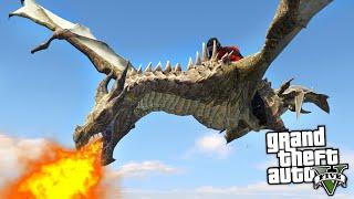 EJDERHA EĞİTME MODU (GTA 5 Mod Komik Anlar)