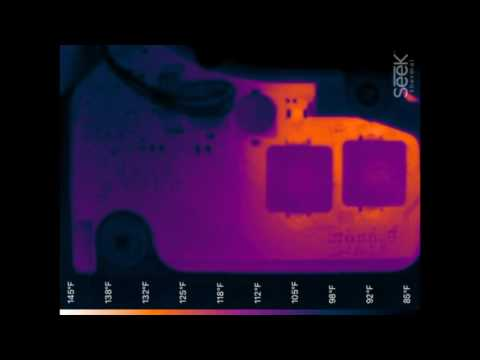 Seek Compact Pro Thermal Imager Vs Laptop