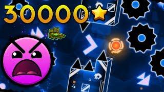 Geometry Dash [2.1] - 30,000 Stars! Sepctral Velocity by QuantumFlux (Insane 9* 3 Coins)