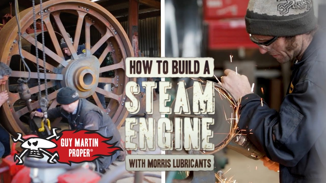 The Build - How to Build a Steam Engine with Guy Martin EP2 | Guy Martin Proper