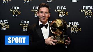 Lionel Messi wins FIFA Ballon d'Or 2015 over Cristiano Ronaldo & Neymar
