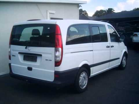 2009 mercedes benz vito 115 transporter cdi 2 2 auto for. Black Bedroom Furniture Sets. Home Design Ideas