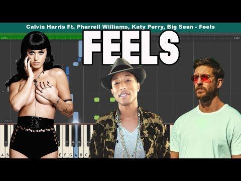 Feels Piano Tutorial - Calvin Harris Ft. Pharrell Williams, Katy Perry, Big Sean