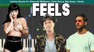 "... free download sheet music + midi: http://pianotutorial.us/feels/ ""feels"" is"