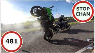 Stop Cham #481 - Niebezpieczne i chamskie sytuacje na drogach