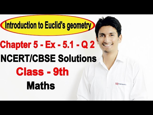 chapter 5 Exercise 5.1 q 2 - Introduction to Euclid's geometry class 9 maths NCERT Solutions