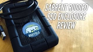 SABRENT Rugged Shockproof USB 3.0 Hard Drive Enclosure REVIEW