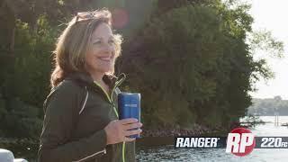 Ranger RP220FC Reata Pontoon On-Water Footage