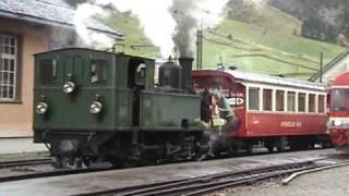 Repeat youtube video Swiss Narrow Gauge Steam Train: Appenzeller Bahn