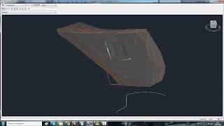 видео Контроль земляных работ с подсчетом объёмов, картограмма земляных масс.