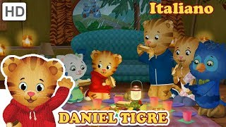 Daniel Tiger in Italiano - Cena al Buio! | Video per Bambini