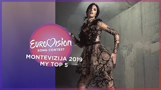 Eurovision 2019 🇲🇪 (Montevizija 2019/Montenegrian National Selection) - Top 5