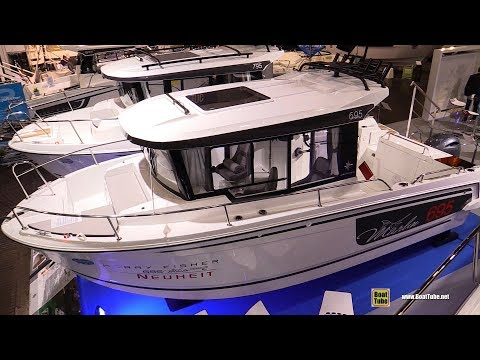 2020 Jeanneau Merry Fisher 695 Marlin Motor Boat - Walkaround Tour - 2020 Boot Dusseldorf