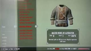 Skyrim- Secret chest has all spell tomes!