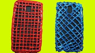 Çok Ucuza Havalı Telefon Kılıfı Nasıl Yapılır Sıcak Silikon İle Telefon Kılıfı Yapımı