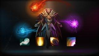 Комбо-Вомбо DotA 2, Invoker. Sunstrike+Meteor+Blast