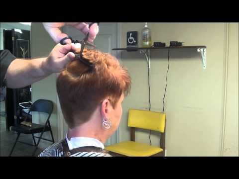 Ladies Hairstyles Woman-Hair Cut Styles Hair Styles Even Clipper Cutting !!