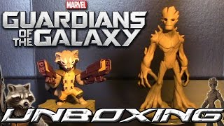 Rocket Raccoon & Groot - Disney Infinity 2.0 (Unboxing Marvel Super Heroes)