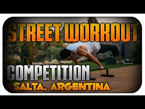 Street Workout Competition in Argentina-Salta