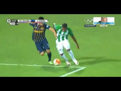 Atlético Nacional le marcó sobre la hora a Rosario Central y lo dejó afuera