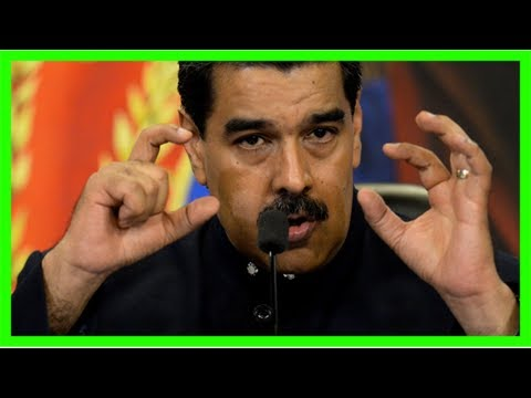 Venezuela's maduro: some opposition parties to be barred from presidential vote