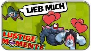 Die GRÖSSTE Liebes Geschichte | Clash Royale Funny Moments Deutsch German