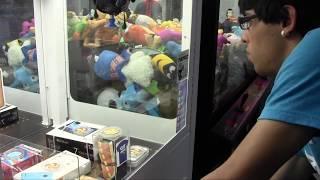 Cut the Rope Arcade Game WIN #2 + Claw Machine