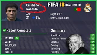 FIFA 18 Career Mode Player Regens