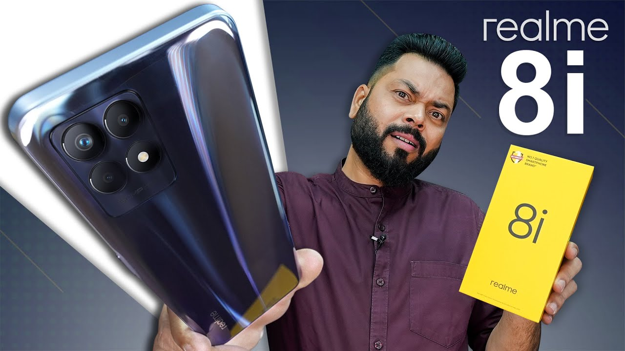 Download realme 8i Unboxing And First Impressions ⚡️ MediaTek Helio G96, 120Hz Screen, 50MP Camera & More