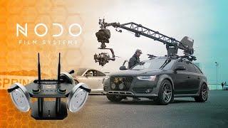 Integrating the Nodo Film Tools Inertia Wheels into our Camera Car