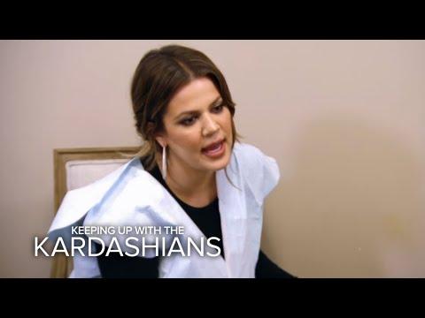 KUWTK | Khloé Kardashian's Butt Gets Laser Treatment | E!