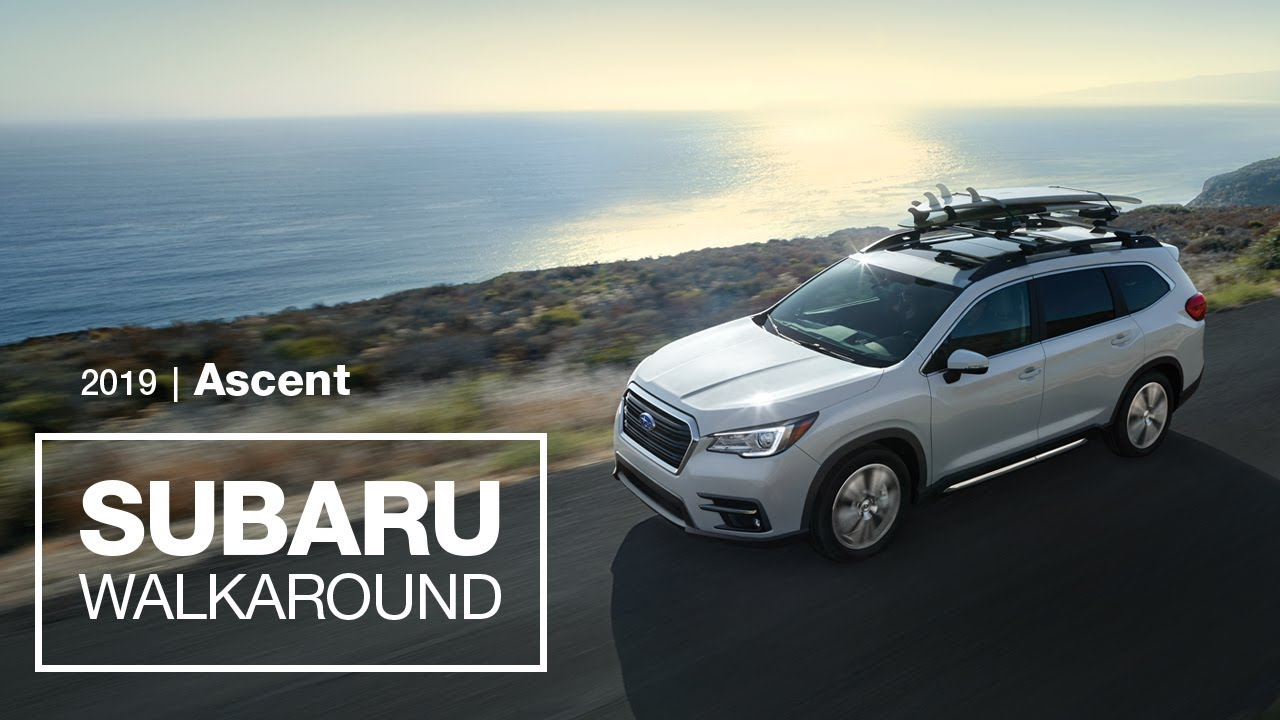 Introducing The 2019 Subaru Ascent Suv New Model Walkaround Youtube