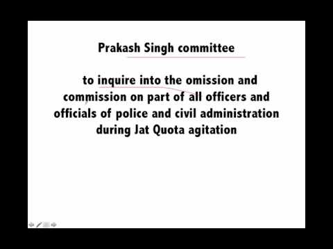 Important committees 2016 - General knowledge for Bank PO & Clerk