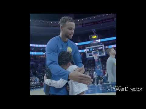 Stephen Curry CALMING His Crying Daughter