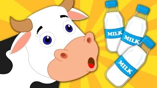 Moo Moo Cow | Nursery Rhymes | Kids Songs | Baby Rhymes | Children Video
