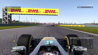 Epic Last Few Laps Of F1 2017 | Tight Race to the Finish