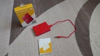 "ОНЛАЙН ТРЕЙД.РУ — Внешний жесткий диск Western Digital My Passport 2.5"" 2.0Tb USB 3.0 Red"